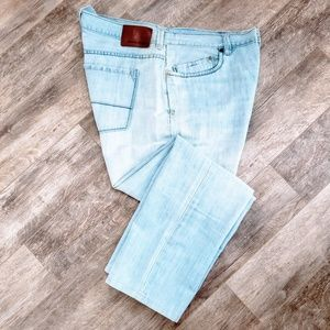 Tommy Bahama Light Blue Stone Washed Jeans - 40